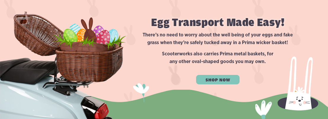 Easter Baskets and Storage