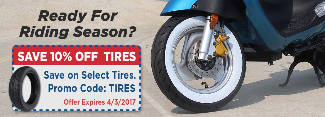 Scooter Tire Sale
