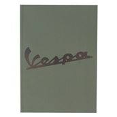 Notebook (Vespa Logo, Green, 6