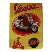 Mini Tin Sign (Vespa Fenderlight, 6