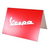 Greeting Card (Red Vespa Script, 4