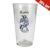 Pint Glass (Buddy St Tropez)