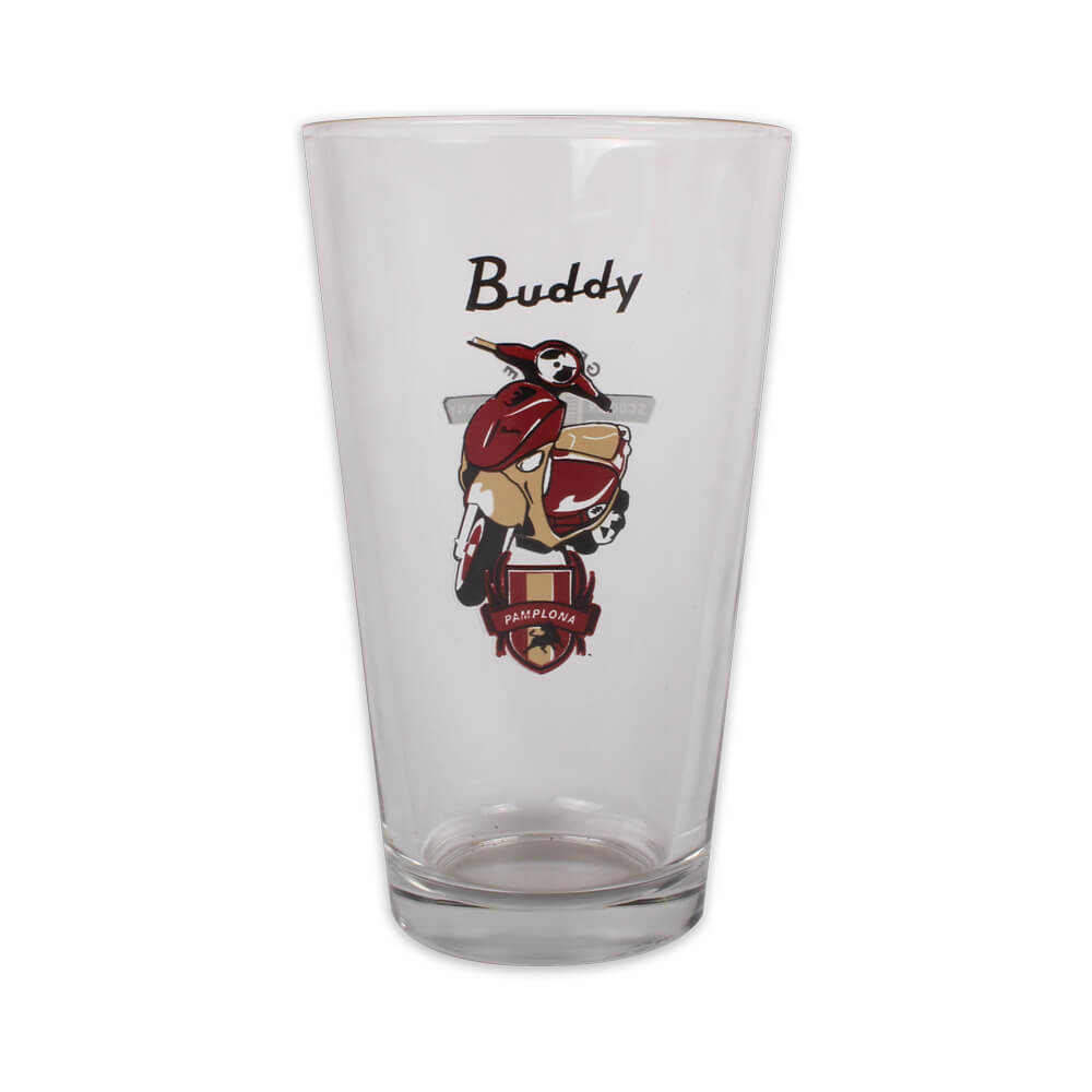 Pint Glass (Buddy Pamplona)