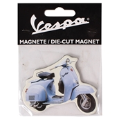 Magnet (Lt Blue Vespa Super)S