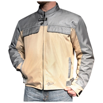 Prima Riding Jacket (Pullman, Tan/Gray)
