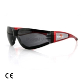 Bobster Riding Glasses (Shield II, Red Frame)S