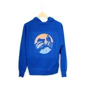 Hoodie (VBC, Blue, zip-up)S