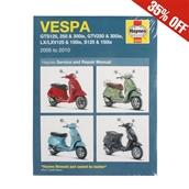 Haynes Manual; Vespa GT, GTS, GTV, LX, SS