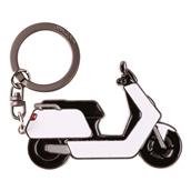 N Keychain (White)S