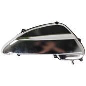 NCY Air Box Cover (Chrome Finish); Yamaha Vino 50S
