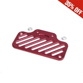 NCY Oil Cooler Cover (Aluminum, Chrome); Yamaha Vino 125S