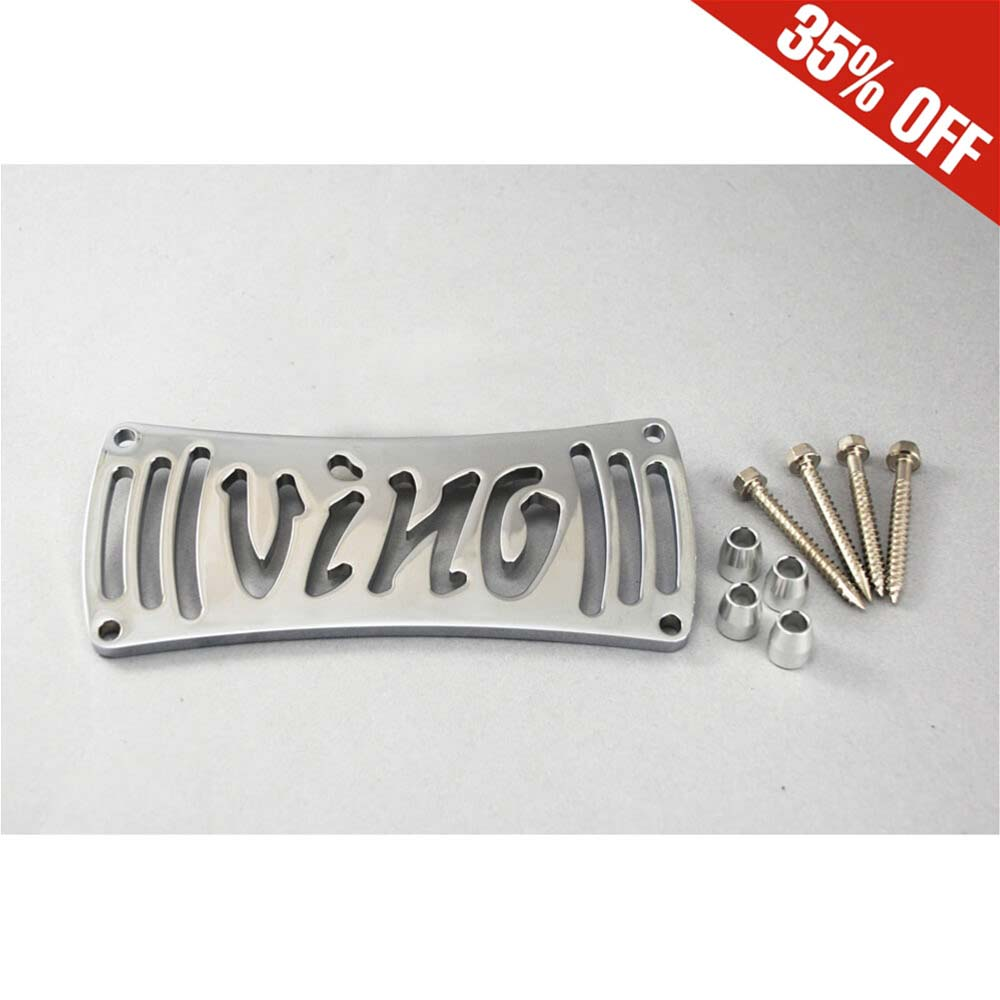 NCY Radiator Cover (Chrome); Yamaha Vino 50 4T