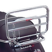 Faco Rear Rack (Chrome); Vespa S 50, S 150