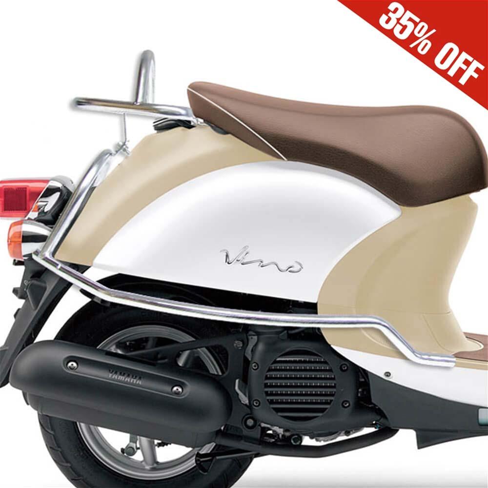 Prima Rear Rack (Chrome); Yamaha Vino 50 4T