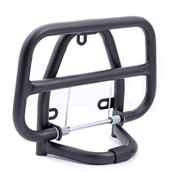 Prima Folding Front Rack (Black); Genuine BuddyS