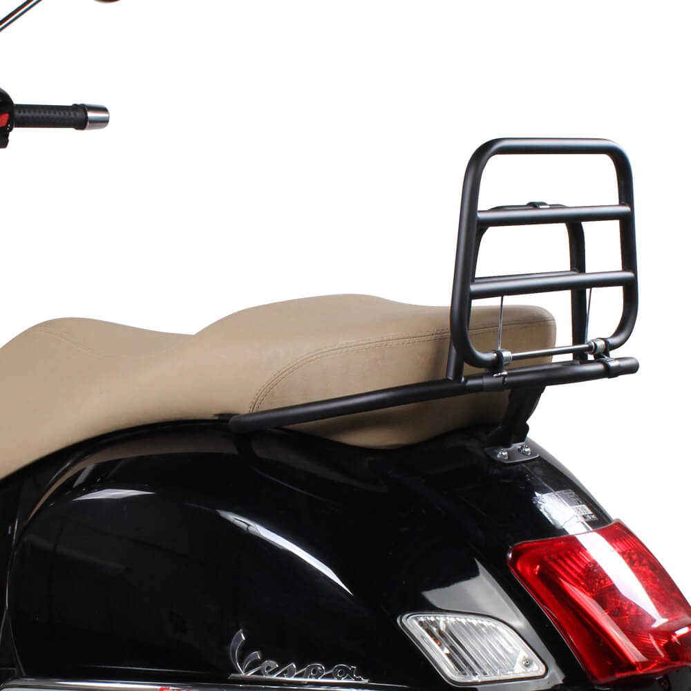 Rear Stand Installed on a Vespa Scooter