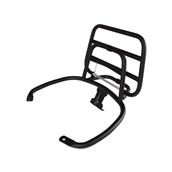 Rear Rack (Fold Down, Black); Vespa GTS