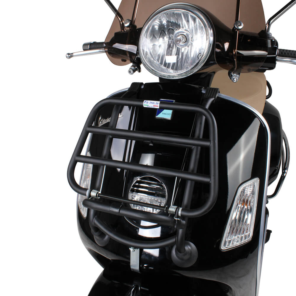 Front Stand on a Vespa Scooter