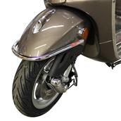 Faco Front Bumper (Chrome); Vespa Primavera, Sprint 2013+S