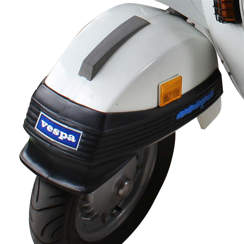 Cuppini Front Bumper on a Stella Scooter
