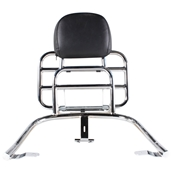Prima Rear Rack (Backrest, Chrome); Vespa Primavera, SprintS