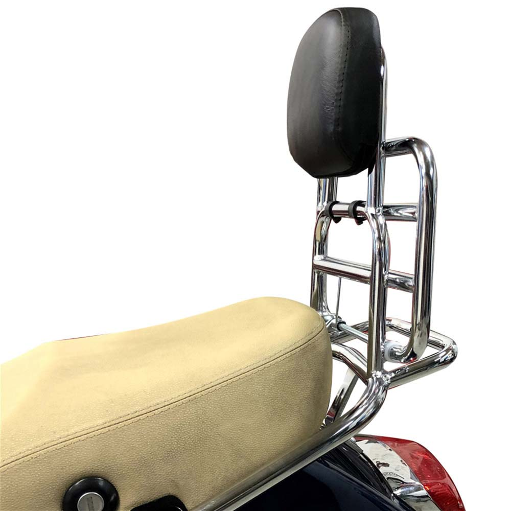 Prima Rear Shelf on a Vespa Scooter