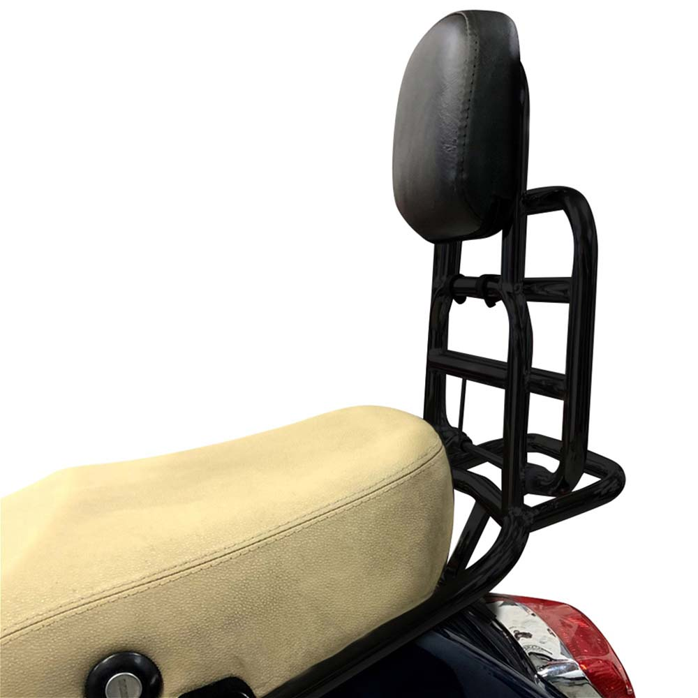 Prima Rear Rack on a Vespa Scooter