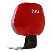 NIU Rear Back Rest; NQi GT, NQi SportS