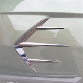 Cowl Flash Accent (Left Side); Royal Alloy GT150S