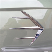 Cowl Flash Accent (Right Side); Royal Alloy GT150S
