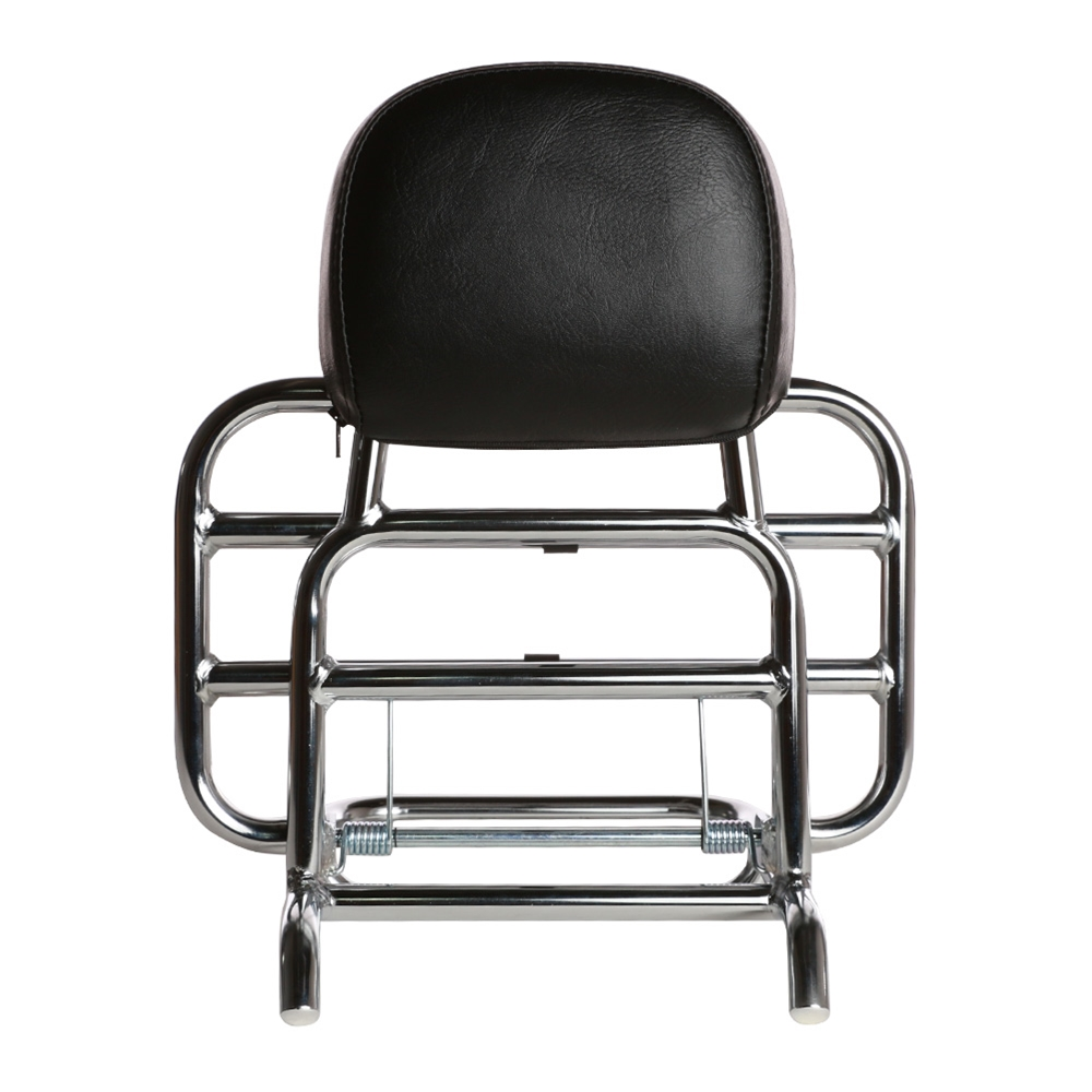 Prima Rear Rack (Backrest, Chrome); Royal Alloy GT150