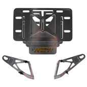 NCY License Plate Holder (Adjustable); Yamaha Vino 50