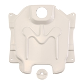 NCY Gas Tank Cover (Composite, Primered); Honda RuckusS