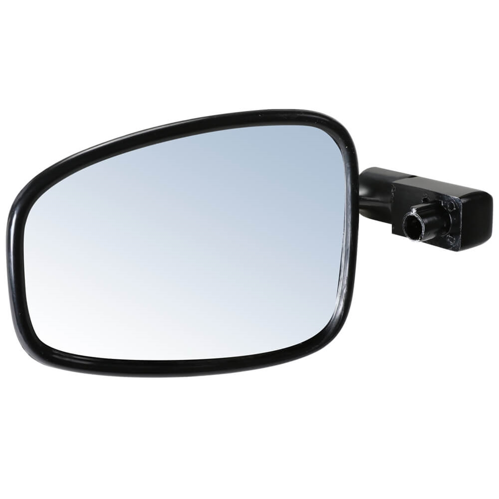 Prima Bar End Mirror (Black, Vintage); G400C