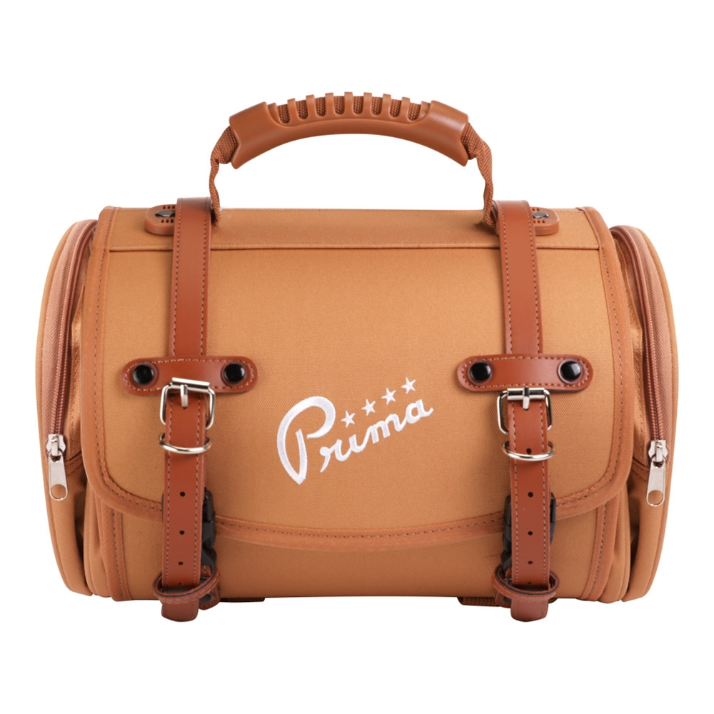 Prima Roll Bag (Small, Brown)