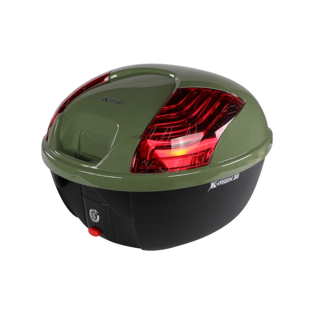Italia Green Scooter Topcase