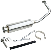 NCY Performance Exhaust (Stainless); QMB139S