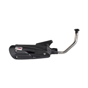 Scooterworks Low Mount Exhaust GY6S