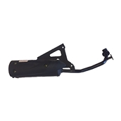 Scooterworks Sport Exhaust; Genuine Venture