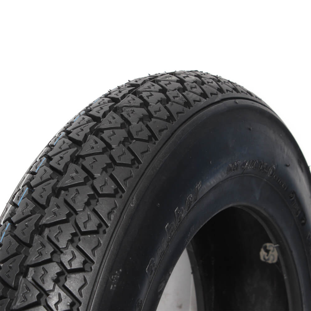 Vee Rubber Tire Closeup