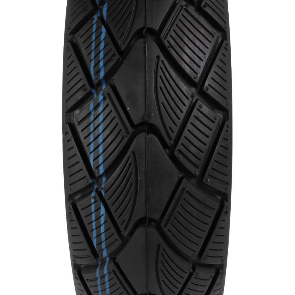 Vee Winter Rubber Tire Side View Closeup