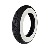 Prima Tire (Whitewall, 3.0 x 10); Genuine Bud 50, Buddy KickS