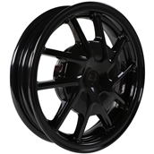 NCY Hustler Front Wheel (Black, 10 Spoke) ; Honda Dio, Sym DS
