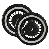 Mounted Tires and Rims (Shinko Whitewall); Vespa GTSS