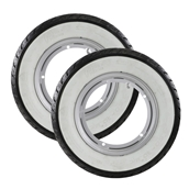 Mounted Tubeless Wheels (Whitewall Tires) PX, P200, StellaS