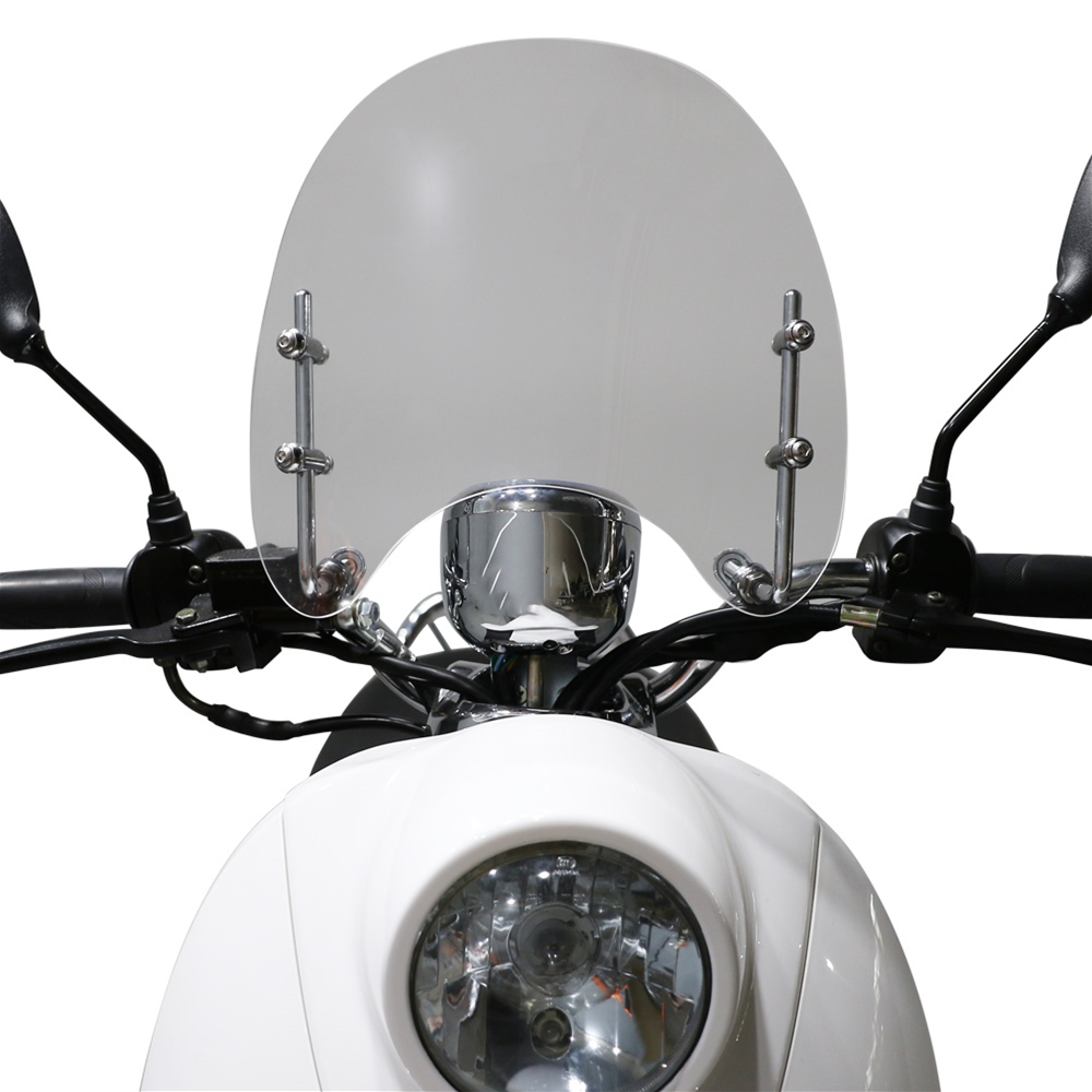 Windshield (Clear); Honda Metropolitan - Pre 2013 Models