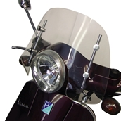 Prima Windshield (Short, Clear); Vespa LX, GTS