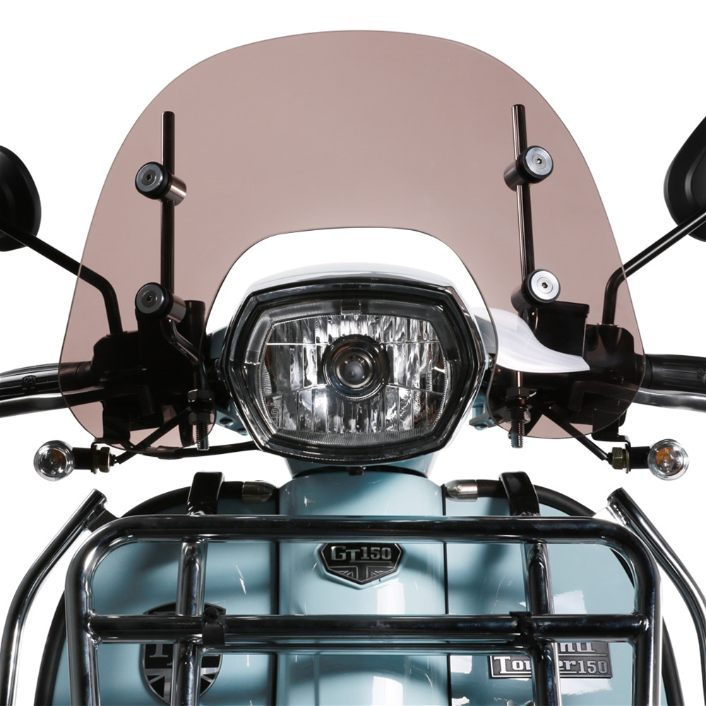 Prima Windshield (Short, Smoked); Royal Alloy GT150