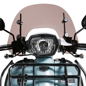 Prima Windshield (Short, Smoked); Royal Alloy GT150S