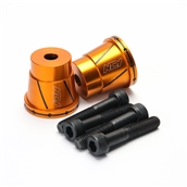 NCY Frame Sliders (Alloy, Orange); UniversalS